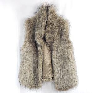 Jack by BB Dakota Faux Fur Vest Jacket